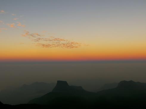 Sunrise from Adams Peak, Sri Lanka